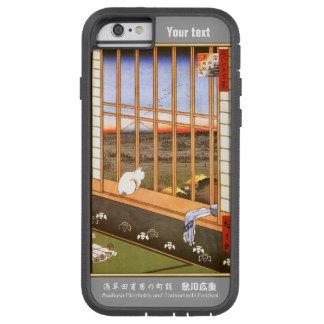 Japanese artist Utagawa Hiroshige and your text. Tough Xtreme iPhone 6 Case