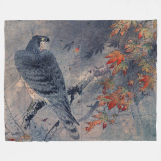 Japanese Autumn Fleece Blanket