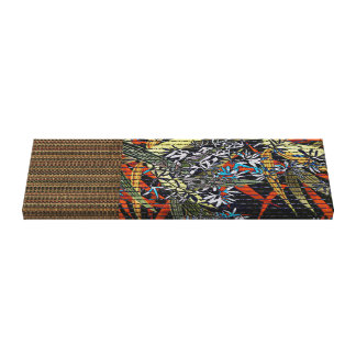 Japanese Bamboo Weave Canvas Print
