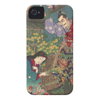 Japanese Beautiful Geisha Samurai Art Case-Mate iPhone 4 Cases