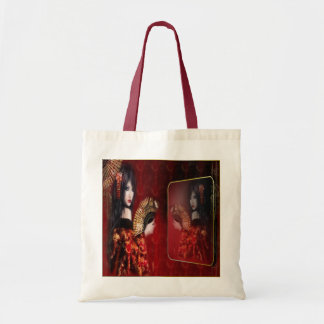 Japanese Beauty - Budget Tote Canvas Bag