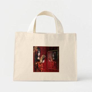 Japanese Beauty - Tiny Tote Canvas Bag
