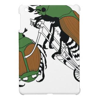 Japanese Beetle Riding Bike/ Japanese Beetle Wheel iPad Mini Covers