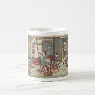 Japanese birth ceremony - mug