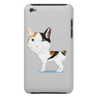 Japanese Bobtail Caricature iPod Case-Mate Cases