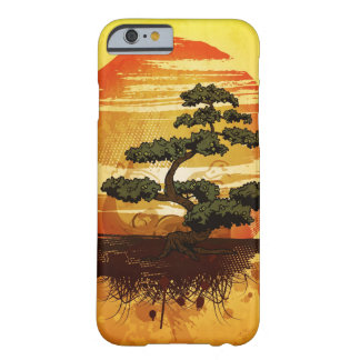 Japanese Bonsai Tree Sunset Barely There iPhone 6 Case
