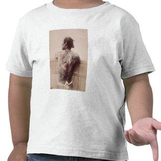 Japanese Bridegroom's Tattoos, c.1880 (photo) T-shirts