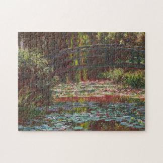 Japanese Bridge and Water Lilies ~ Claude Monet Puzzle