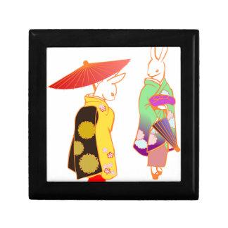Japanese Bunny Rabbits Gift Box