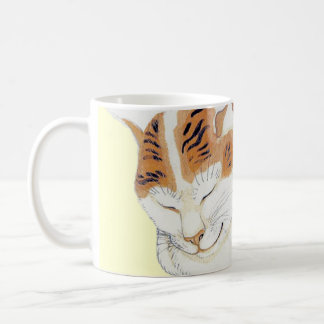 Japanese Calico Cat Quote Gift Mug