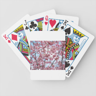 Japanese Cherry Blossom Bicycle Playing Cards
