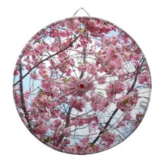 Japanese Cherry Blossom Dartboard