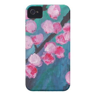 Japanese Cherry Blossom Painting iPhone 4 Cover