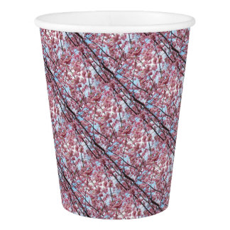 Japanese Cherry Blossom Paper Cup