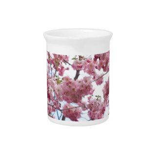 Japanese Cherry Blossom Pitcher