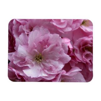 Japanese cherry blossom rectangle magnets