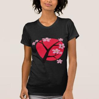 Japanese Cherry Blossom Tattoo Tshirt