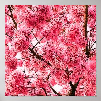 Japanese Cherry Blossom Tree (2013) Print