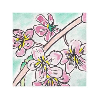 Japanese Cherry Blossoms Canvas Print