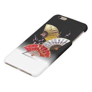 Japanese Cherry Fans Matte iPhone 6 Plus Case