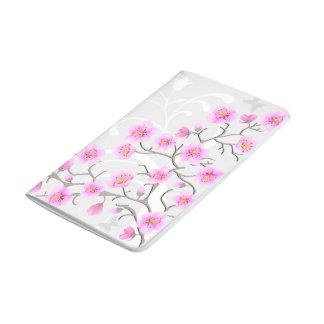 Japanese Cherry Flowers Pocket Journal