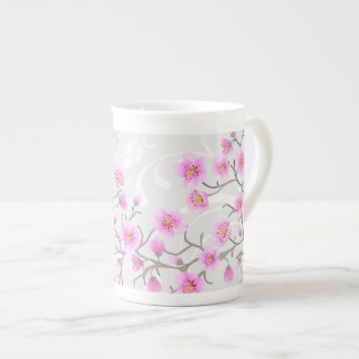 Japanese Cherry Flowers Tea Cup