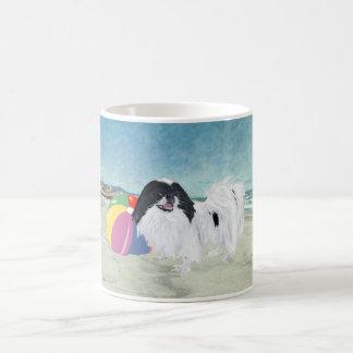 Japanese Chin Beach Ball Coffee Mug