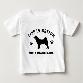 japanese chin dog design baby T-Shirt