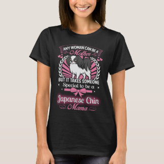 Japanese Chin Mama T-Shirt