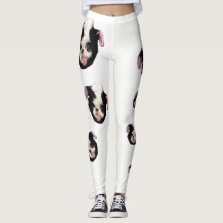 Japanese Chin Skunk Leggings