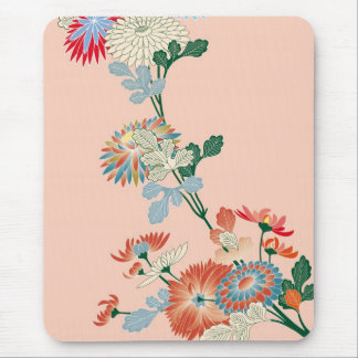 Japanese Chrysanthemum Mouse Pad
