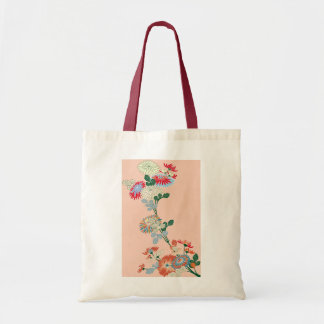 Japanese Chrysanthemum Tote Bag