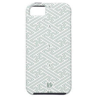 "Japanese classic pattern ""SAYA"". Harmony handle iPhone 5 Cases"