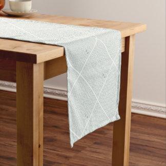 "Japanese classic pattern ""SAYA"". Harmony handle Short Table Runner"