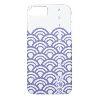 "Japanese classic pattern ""SEIGAIHA "" harmony iPhone 8/7 Case"