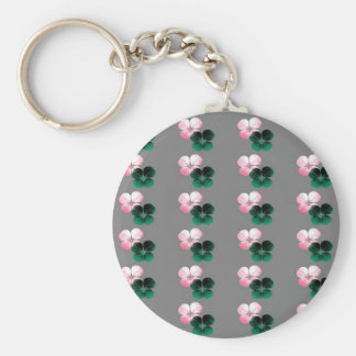 Japanese Clover Keychain