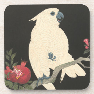 JAPANESE COCKATOO coasters