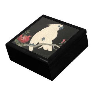 JAPANESE COCKATOO Tile Gift Box