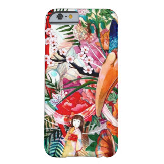Japanese Color Collage Barely There iPhone 6 Case