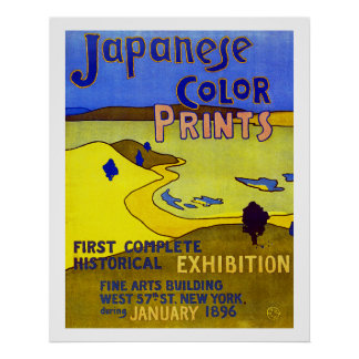 Japanese Color Prints Poster