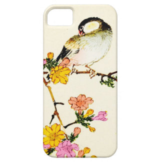 Japanese Colorful Flowers & Bird Case For The iPhone 5