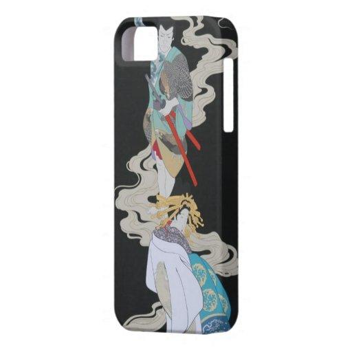 Japanese Couple iPhone 5 Case