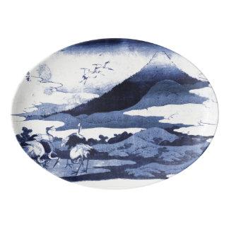 Japanese Crane Platter