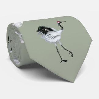 Japanese Cranes Men's Tie