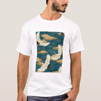 Japanese Cranes T-Shirt