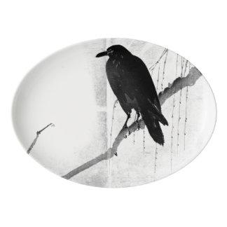 Japanese Crow Platter