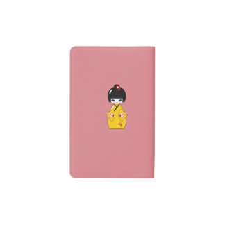 Japanese doll pocket moleskine notebook