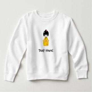 Japanese doll sweatshirt