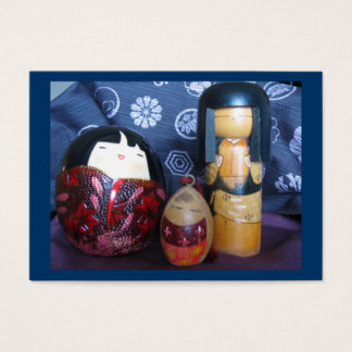 Japanese dolls business card