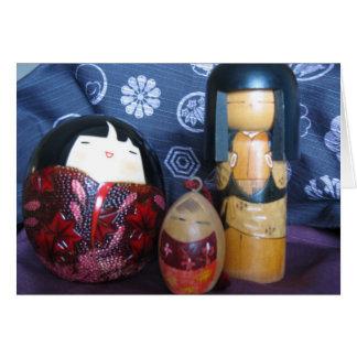 Japanese Dolls Card